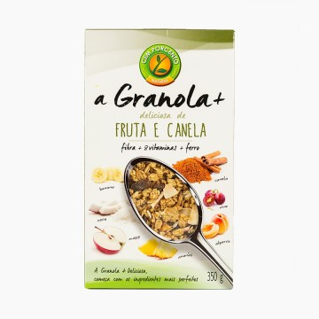 Granola Fruta e Canela