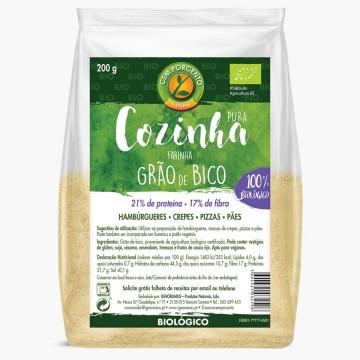 Farinha Grao Bico Bio (200G)