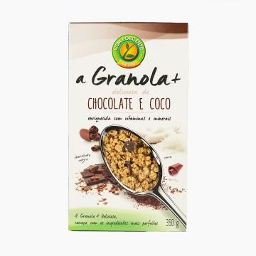 Granola Chocolate e Coco...