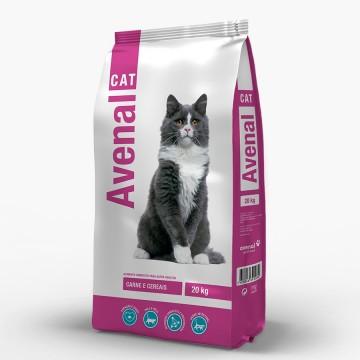 Ração Gato Avenal Carne (20...