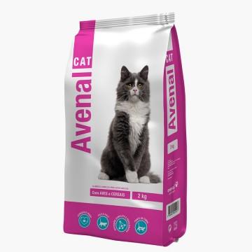Ração Gato Avenalcat Carne...