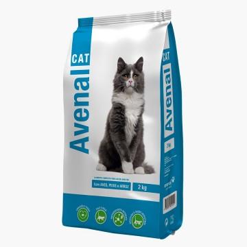 Ração Gato Avenalcat Peixe...