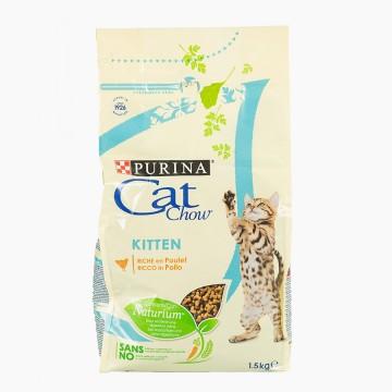 Ração Gato Cat Chow Kitten...