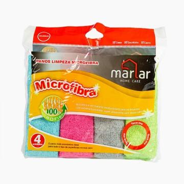 Panos Limpeza Microfibra 4Un