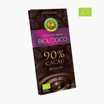 Chocolate negro 90% cacau...