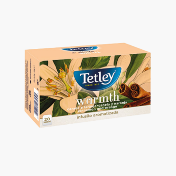 Cha Tetley Warmth Canela...