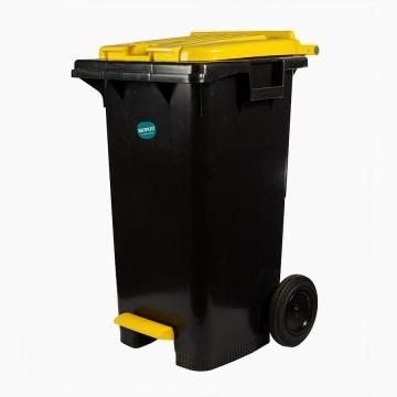 Balde Lixo C/Rodas C/Pedal...