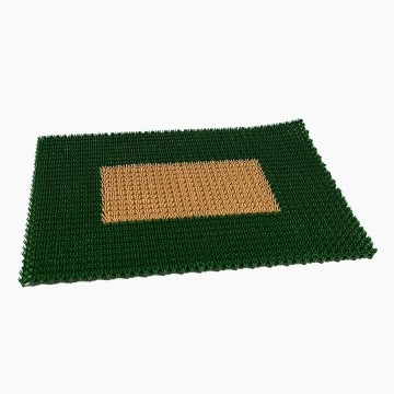 Tapete Prado Verde 40X60cm