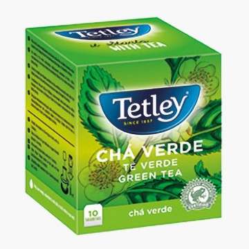 Cha Tetley Verde (10Saq)