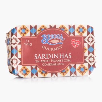 Sardinha Azeite Picante C/...
