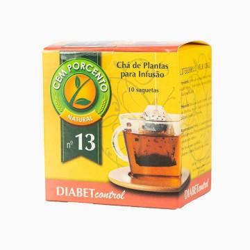 Chá Diabet Control Cem Por...